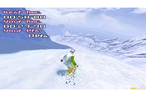 Trick'n Snowboarder (USA) Sony PlayStation (PSX) ISO ...