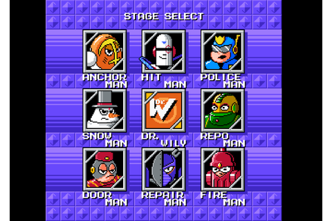 8-bit Games: Mega Man Rocks!