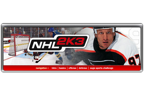 NHL 2K3 - cube - Walkthrough and Guide - Page 4 - GameSpy