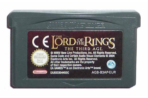 Buy The Lord of the Rings: The Third Age Game Boy Advance ...