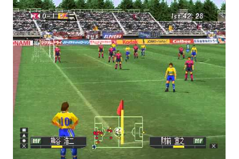 winning eleven 2001 - YouTube