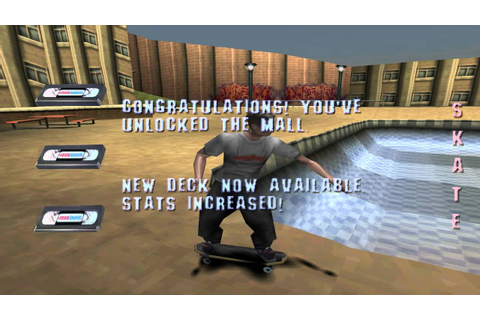 Tony Hawk's Pro Skater (Skateboarding) (PS1) Intro ...