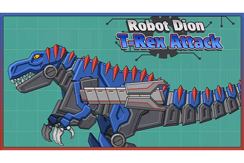 Dino Robot T-Rex Attack - Full Game Play 1080 HD - YouTube