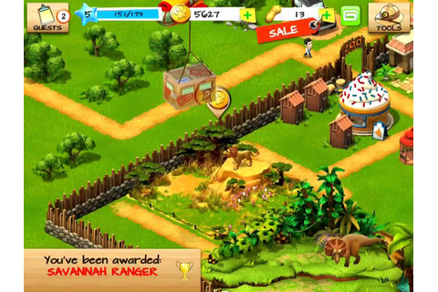 Wonder Zoo: Animal & Dinosaur Rescue for iOS Gameplay ...