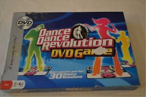 Imagination Dance Dance Revolution Interactive DVD Game in ...