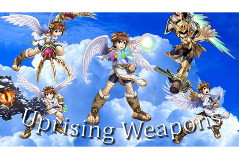 Recommended Kid Icarus Uprising Weapons - YouTube