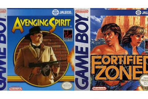 Game Boy-Klassiker Avenging Spirit und Fortified Zone ...