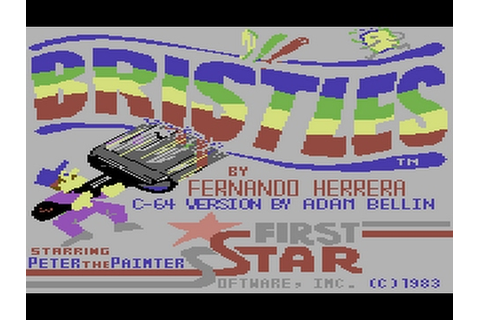 C64 Game: Bristles - YouTube