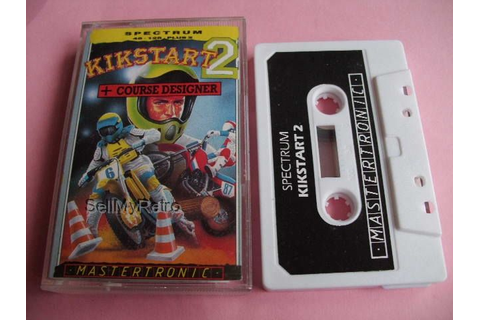 Sinclair ZX Spectrum Game: Kikstart 2 in 2020 (With images ...