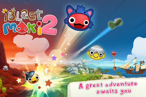 iBlast Moki 2 aka Moki Blast 2 ;) by Godzilab on iPhone ...
