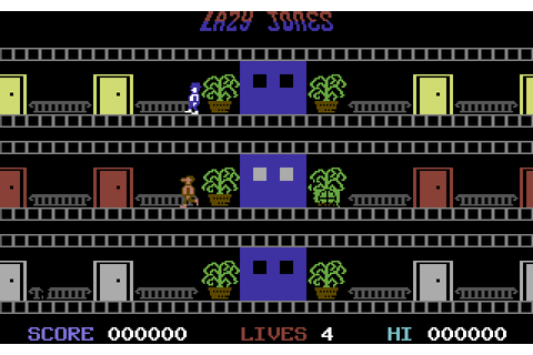 Lazy Jones (1984) by Terminal Software C64 game