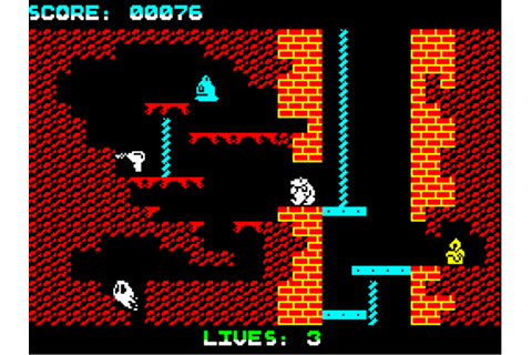 Download Wanted: Monty Mole (ZX Spectrum) - My Abandonware