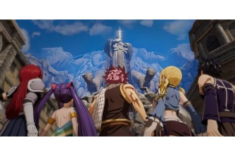 Fairy Tail Video Game Reveals Playable Characters
