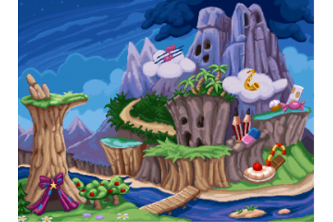 The valley - RayWiki, the Rayman wiki