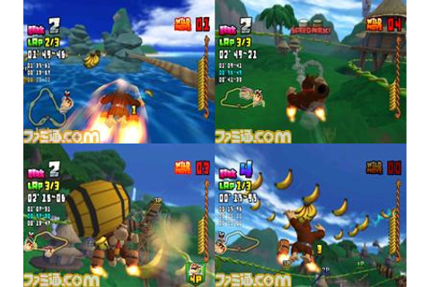 Donkey Kong Taru Jet Race (New) from Nintendo - Wii
