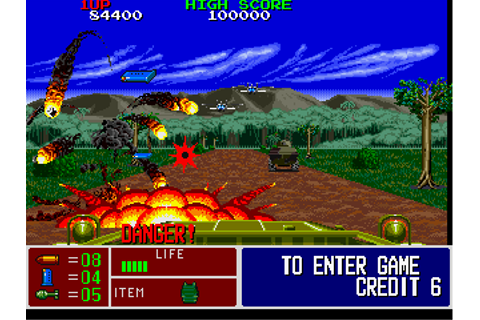 Operation Thunderbolt, Arcade Video game by Taito (1988)