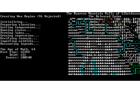 SLAVES TO ARMOK: GOD OF BLOOD – CHAPTER II: DWARF FORTRESS