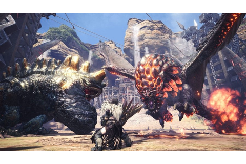 The best PC games of 2018: Monster Hunter: World | PCGamesN
