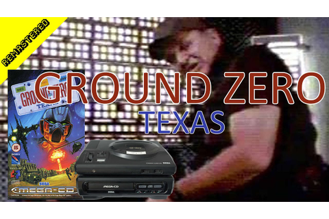 Ground Zero Texas Sega Mega CD CRGR Remastered Classic ...