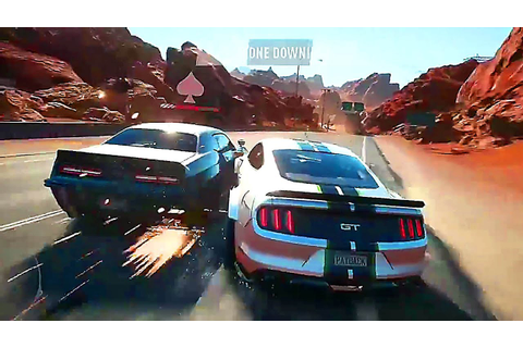 NEED FOR SPEED PAYBACK 10 Minutes Gameplay (E3 2017) - YouTube