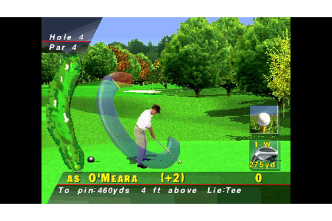 PGA Tour 96 ... (PS1) 60fps - YouTube