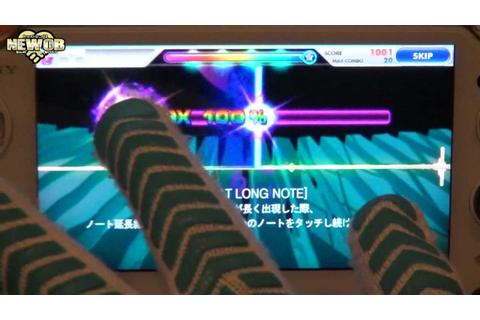 PS Vita - DJMax Technika Tune - YouTube
