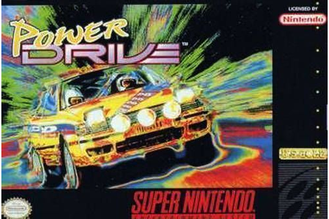 Power Drive ROM - Super Nintendo (SNES) | Emulator.Games
