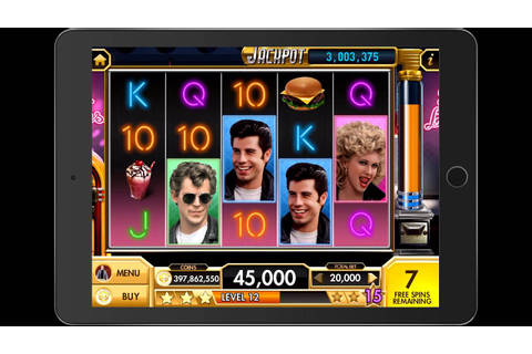 GREASE Video Slot Game with a FREE SPIN BONUS RETRIGERED ...