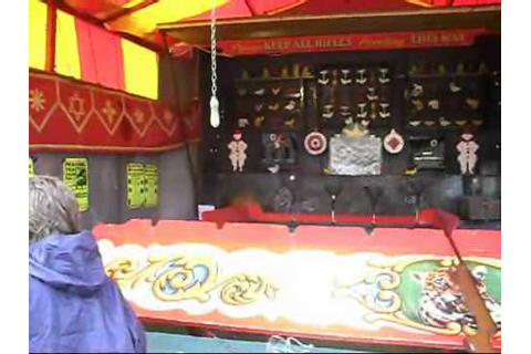 Fun Fair Shooting Gallery - YouTube