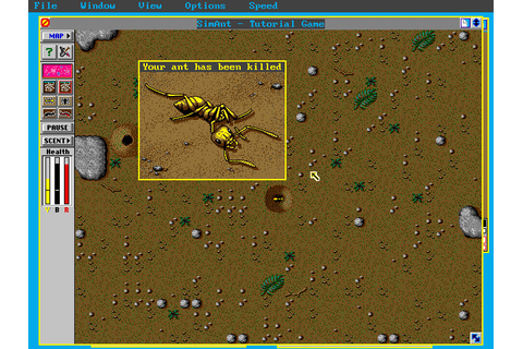 Скриншоты SimAnt: The Electronic Ant Colony на Old-Games.RU