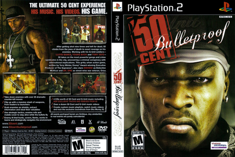 50 Cent – Bulletproof | Capas e Covers Gratis.