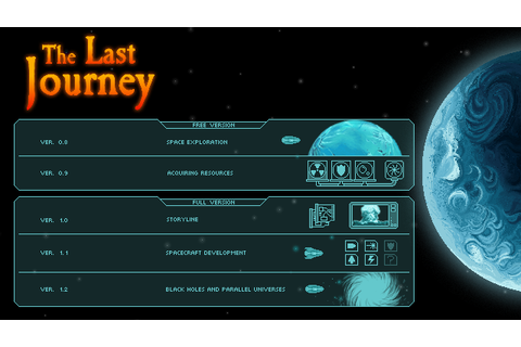 The Last Journey - development schedule news - Indie DB