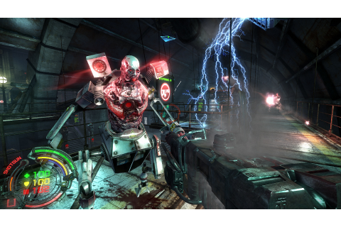 PC Exclusive Shooter Hard Reset: Redux Rated For Xbox One ...