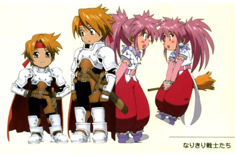 tales of phantasia narikiri dungeon x | Tumblr