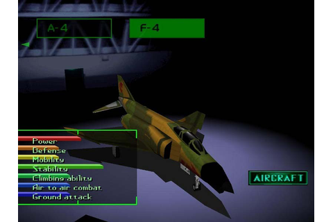 Ace Combat 2 – Game Art and Screenshots Gallery