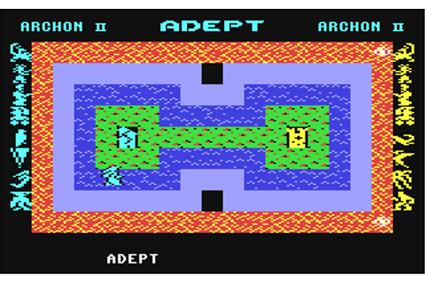 Archon II: Adept (1984) by Free Fall C64 game