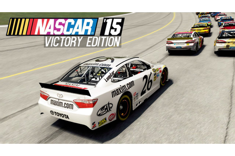 NASCAR 15 Victory Edition [Gameplay, PC] - YouTube