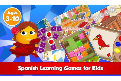 Fun Spanish: Language learning games for kids ages 3-10 ...