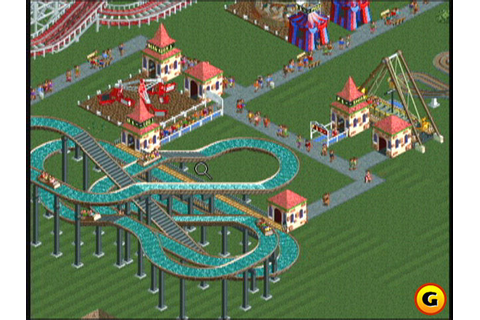 A Fan of a Classic Video Game, RollerCoaster Tycoon ...