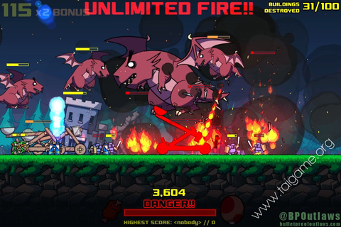 Dragon Rage - Download Free Full Games | Arcade & Action games