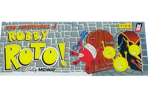 Adventures of Robby Roto, The - Videogame by Bally Midway