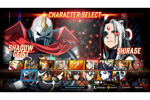 FIGHTING EX LAYER Character Select 2 - YouTube