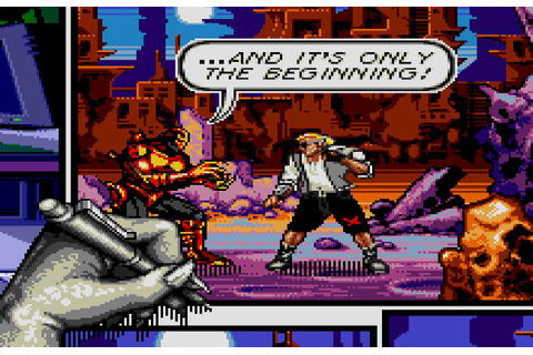 I Play the Mega Drive Collection Part 2: Comix Zone ...