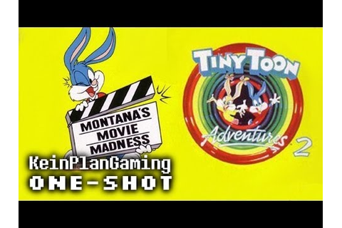 Tiny Toon Adventures 2 : Montana's Movie Madness (Jeu Game ...