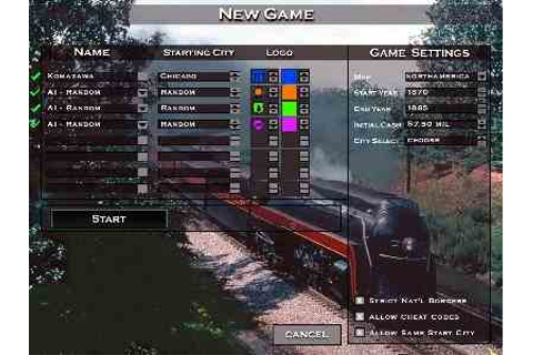 Rails Across America - PC Game Download Free Full Version