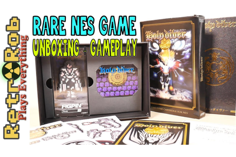 ️🤘🏻 Holy Diver Limited Edition NES Game Unboxing and ...