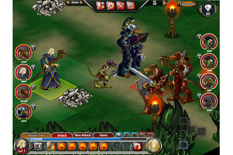 Facebook Game Dungeons and Dragons: Heroes of Neverwinter ...