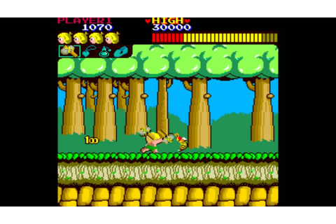 Wonder Boy arcade game by SEGA. - YouTube