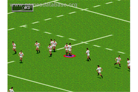 Rugby World Cup 95 - Sega Genesis - Games Database