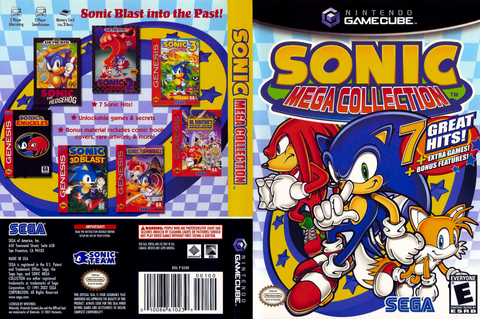 GSOE8P - Sonic Mega Collection